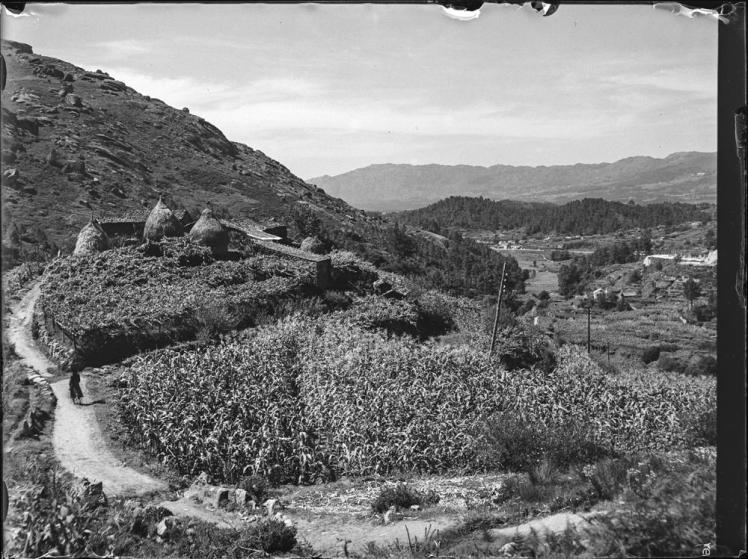 Landschaft zur Poriño & Fuentearreas [Paisaje de Porriño y Fue