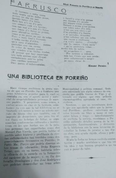 Artigo sobre a biblioteca